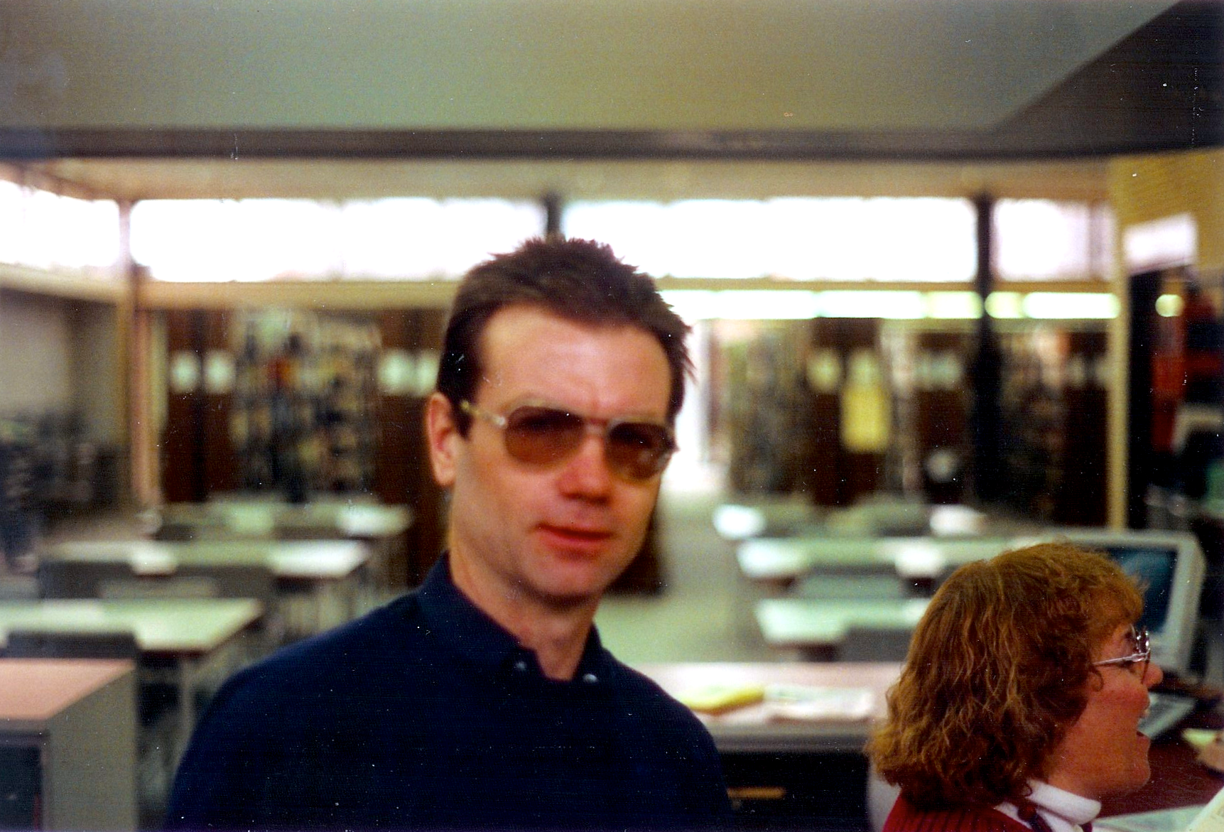 Tom Acra, January 1993. (Photo: Richard Friend)