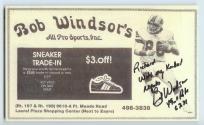 Bob Windsor's ad, 1986