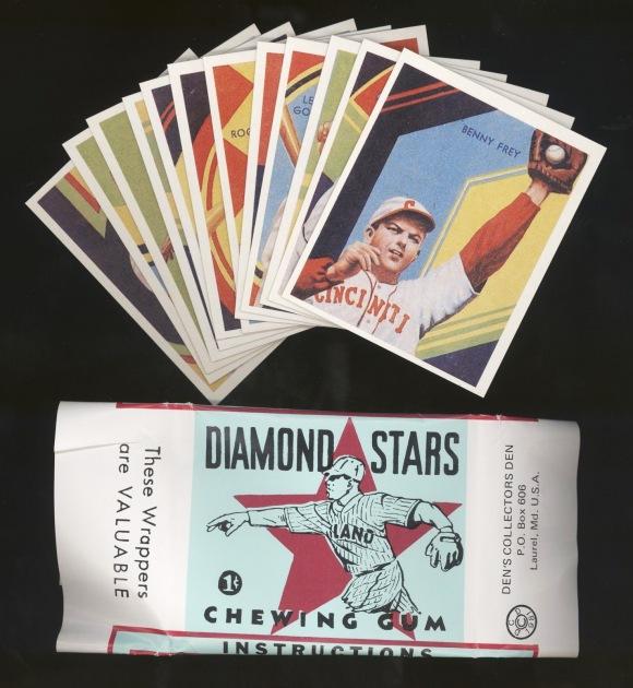 DIAMOND STARS WITH WRAPPER 1981
