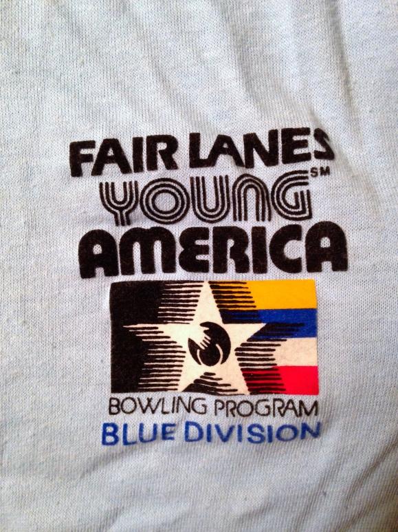 1980s Fair Lanes bowling shirt