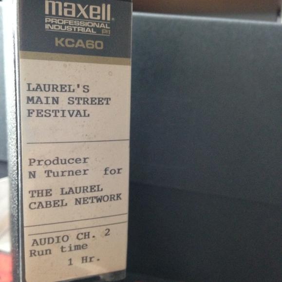 1989 Main Street Festival video case 1