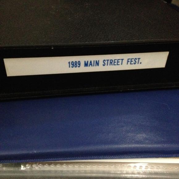 1989 Main Street Festival video case 2