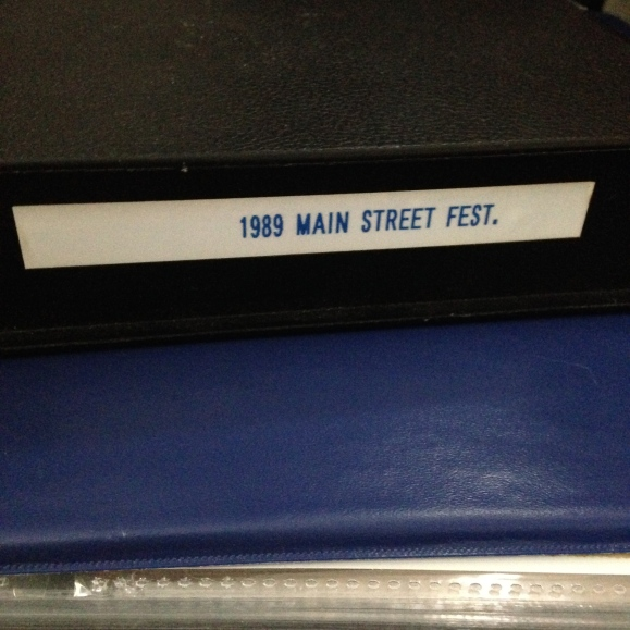 1989 Main Street Festival video case 2