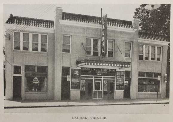 Laurel Theatre, 1938