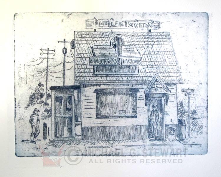 little-tavern-laurel-etching-michael-stewart