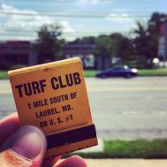 The legendary Turf Club, demolished in 1989, has been home to a Public Storage facility ever since.