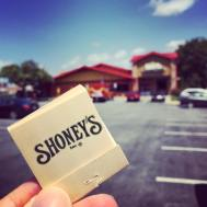 The current Famous Dave's Bar-B-Que at Laurel Lakes began life as Shoney's in 1985, when the shopping center was built.