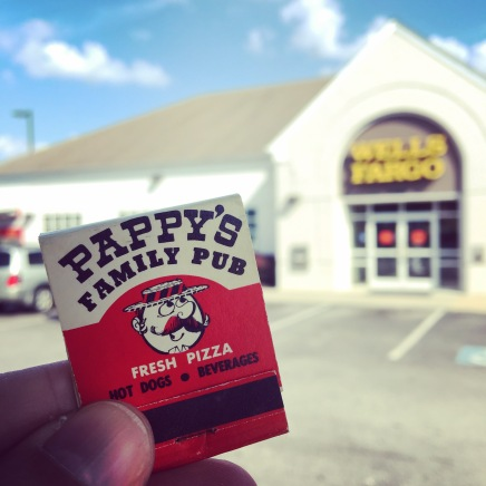 Pappy's opened at 14817 Baltimore Ave. in 1976. If you timed it right, you could see the movie on the Wineland's Laurel Drive-In screen from the back of the restaurant. Currently a Wells Fargo bank.