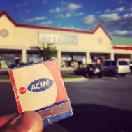 One of the more generic-sounding grocery stores in Laurel, Acme was located at Maryland City Plaza in the early 1970s. An earlier Acme store had actually been on Main Street in the 1950s, where Laurel Glass & Mirror is today.
