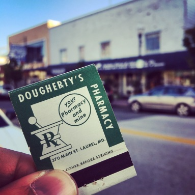 In addition to the pharmacy, Dougherty's featured a popular lunch counter.