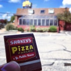 Originally Village Inn Pizza, this building at 143 Bowie Rd. had a FEW runs as various pizza joints over the years—including a brief stint in the early 80s as Shakey's.